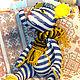 """Игрушки животные, ручной работы. Ярмарка Мастеров - ручная работа. Купить кот """"Парижанин"""". Handmade. Комбинированный, моряк, авторская работа"""
