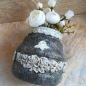 Для дома и интерьера handmade. Livemaster - original item Vase Of Roses. Handmade.