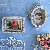 Косметика ручной работы. Ярмарка Мастеров - ручная работа Сувенирное мыло Картины  в стиле Шебби шик. Handmade.