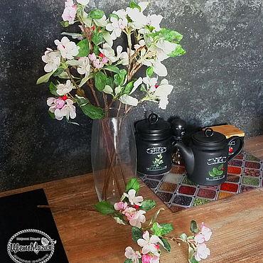 Flowers and floristry handmade. Livemaster - original item Apple polymer clay. Handmade.