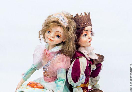 Коллекционные куклы ручной работы. Ярмарка Мастеров - ручная работа. Купить ПРОДЕЛКИ ФЕИ (Золушка). Handmade. Розовый, единственный экземпляр