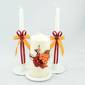 Свадебный салон handmade. Livemaster - original item Candles home