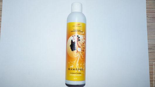 Шампунь для всех типов волос с натуральным соком Усьмы.