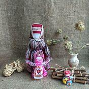 Куклы и игрушки handmade. Livemaster - original item Folk doll amulet Veduchka with a girl amulet for mom for baby. Handmade.