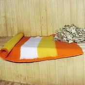 Для дома и интерьера handmade. Livemaster - original item Mat for bath and sauna large 70h180 cm. Handmade.