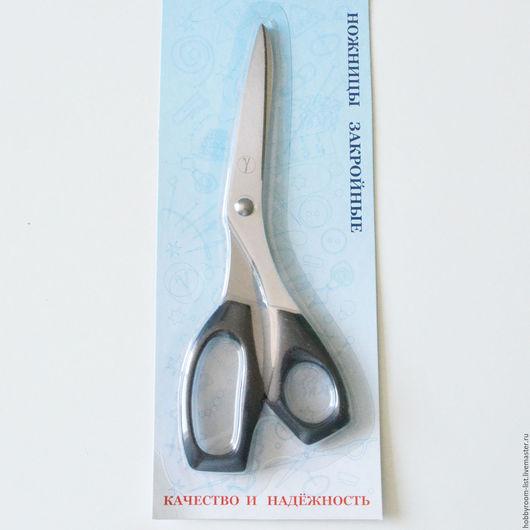 Шитье ручной работы. Ярмарка Мастеров - ручная работа. Купить Ножницы закойные, 207 мм. Handmade. Черный, ножницы