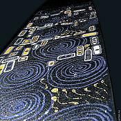 Галстуки ручной работы. Ярмарка Мастеров - ручная работа Климт вечерний, галстук. Handmade.