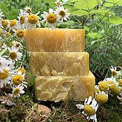 Косметика ручной работы handmade. Livemaster - original item Natural Chamomile Soap. Handmade.