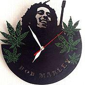 Субкультуры ручной работы. Ярмарка Мастеров - ручная работа Часы Боб Марли. Handmade.