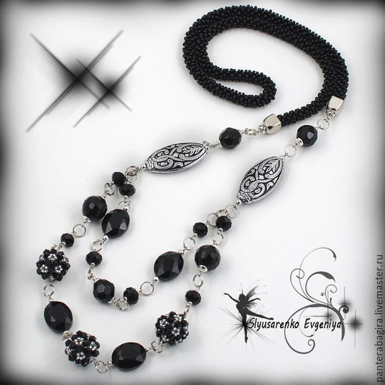 Своими руками ожерелье из камней