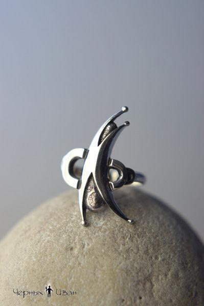 """Кольца ручной работы. Ярмарка Мастеров - ручная работа. Купить """"Акробат"""" кольцо из серебра. Handmade. Акробат, кольцо из серебра, серябряный"""