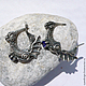 Серьги,  Драконы, серьги из серебра, подарок женщине на 8 марта, серьги из серебра,  подарок подруге, подарок маме, подарок сестре, подарок на 8 марта, серебряные серьги, серьги серебро