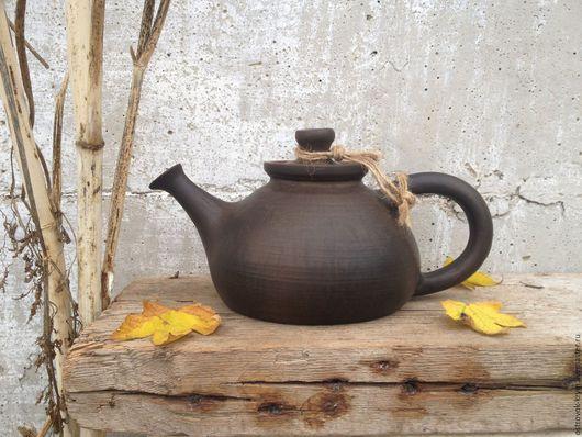 Чайники, кофейники ручной работы. Ярмарка Мастеров - ручная работа. Купить Чайник керамический ручной работы. Handmade.