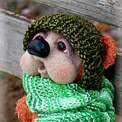 Куклы и игрушки handmade. Livemaster - original item Bear Toffik. Handmade.