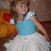 Работы для детей, ручной работы. Ярмарка Мастеров - ручная работа Платье для маленькой леди!. Handmade.