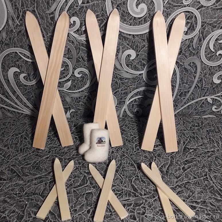 Заготовка лыжи, Аксессуары для кукол и игрушек, Завьялово,  Фото №1