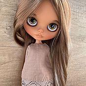 Шарнирная кукла ручной работы. Ярмарка Мастеров - ручная работа Кукла Блайз кастом ( шарнирное тело ). Handmade.