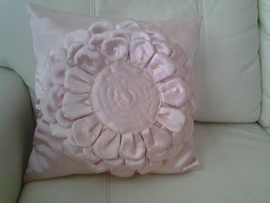 Текстиль, ковры ручной работы. Ярмарка Мастеров - ручная работа. Купить декоративная подушка. Handmade. Подушка на диван, подарок, полиэстер