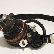 "Субкультуры handmade. Livemaster - original item Monocle Steampunk. ""SCIENTIST CYBER-7"". Handmade."