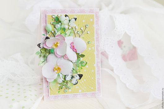 Открытка с цветами. Открытка ручной работы. Открытка с цветами купить. Открытка на свадьбу. Купить открытку с цветами. заказать открытку ручной работы. Свадебная открытка. Цветочная открытка. Открытка