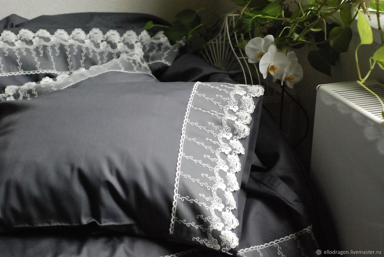 Красивое постельное бельё своими руками фото