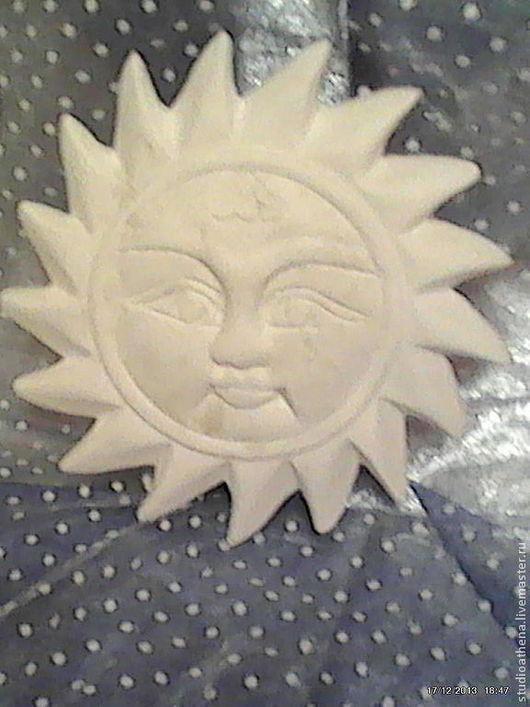 Интерьерные  маски ручной работы. Ярмарка Мастеров - ручная работа. Купить Панно солнце 4. Handmade. Белый, панно на стену