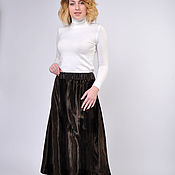Одежда handmade. Livemaster - original item Faux fur skirt. Handmade.