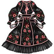 "Одежда handmade. Livemaster - original item Black tulle dress ""Wild Mallow"". Handmade."