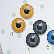 Материалы для творчества handmade. Livemaster - original item Of the eye (iris) for realistic dolls toys 5, 6, 9 mm. Handmade.