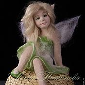 Куклы и игрушки ручной работы. Ярмарка Мастеров - ручная работа Авторская войлочная кукла Эльф Свежести. Handmade.