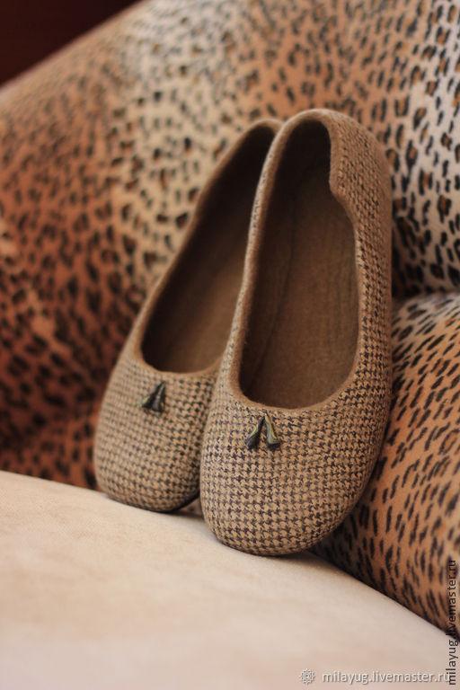 599d9f255 Заказать 'Paola' туфельки балетки валяные. МилаЮг авторская обувь ...