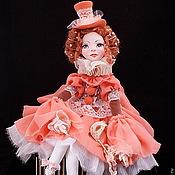 Куклы и игрушки ручной работы. Ярмарка Мастеров - ручная работа Авторская будуарная, музыкальная кукла Джиозетта.. Handmade.