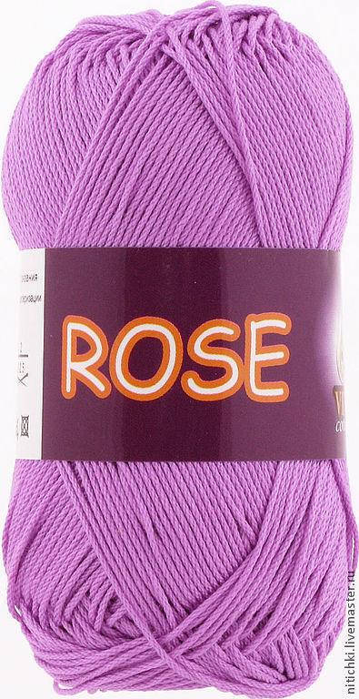 Вязание ручной работы. Ярмарка Мастеров - ручная работа. Купить Пряжа ROSE (хлопок). Handmade. Хлопковая пряжа, хлопок