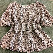 """Одежда ручной работы. Ярмарка Мастеров - ручная работа Блуза """"Путешествие в Италию"""". Handmade."""