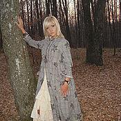 Одежда ручной работы. Ярмарка Мастеров - ручная работа Бохо стиль платье    handmade ,,осенний лист,,. Handmade.