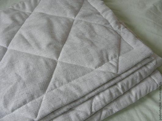 Текстиль, ковры ручной работы. Ярмарка Мастеров - ручная работа. Купить Льняное покрывало - 2. Handmade. Серый, для детей, для дома