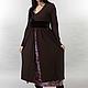 Платья ручной работы. Vacanze Romane-1042. deRvoed Lena. Ярмарка Мастеров. Купить платье, однотонный