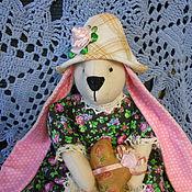 Куклы и игрушки ручной работы. Ярмарка Мастеров - ручная работа Зайка Тарси в стиле тильда. Handmade.