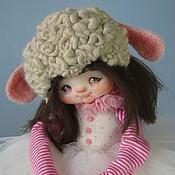 """Куклы и игрушки ручной работы. Ярмарка Мастеров - ручная работа """" Овечка Мэри"""". Handmade."""