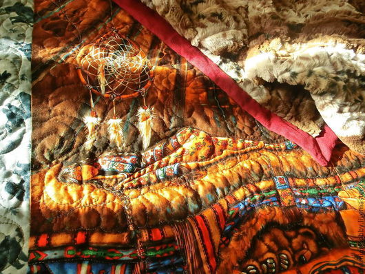 Лоскутное одеяло покрывало пэчворк
