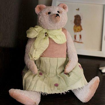 Куклы и игрушки ручной работы. Ярмарка Мастеров - ручная работа Мишка тедди Надин. Handmade.