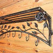 Для дома и интерьера handmade. Livemaster - original item Wrought iron hanger for clothes. Handmade.