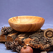 Посуда handmade. Livemaster - original item Wooden Bowl (19,5#70. Handmade.