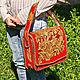 Women's leather bag 'Portfolio A4' - color. Brief case. schwanzchen. My Livemaster. Фото №5