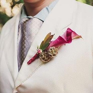 Одежда ручной работы. Ярмарка Мастеров - ручная работа Свадебный мужской костюм. Handmade.