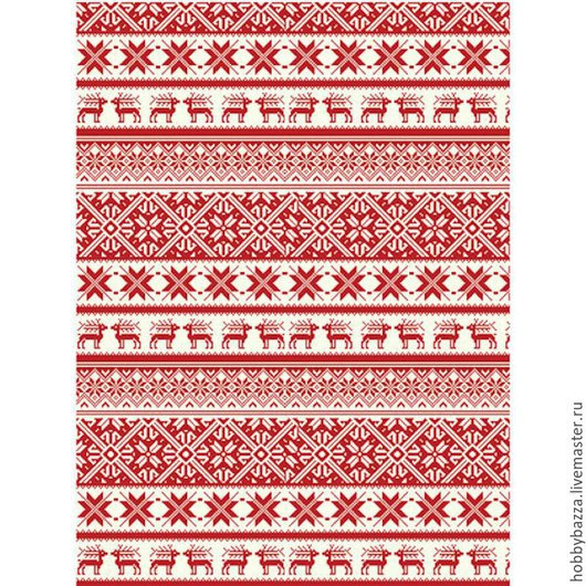Рождество. рисовая бумага. Хоббибазза