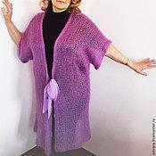 """Одежда ручной работы. Ярмарка Мастеров - ручная работа Вязанный кардиган  """"Орхидея"""". Handmade."""