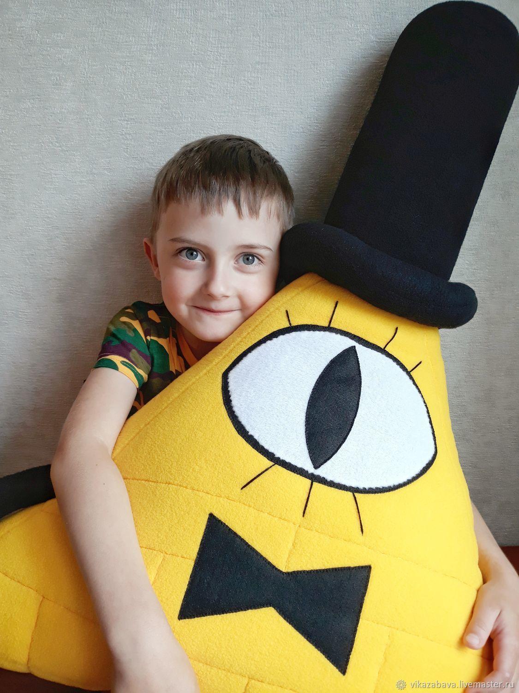 "Билл Шифр (м/ф ""Гравити Фолз""), Мягкие игрушки, Владивосток,  Фото №1"